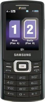 Samsung GT-C5212i Actual Size Image