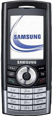 Samsung I310 Actual Size Image