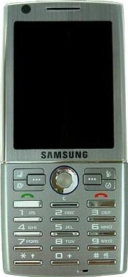 Samsung i550 Actual Size Image