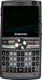 Samsung i600 Actual Size Image