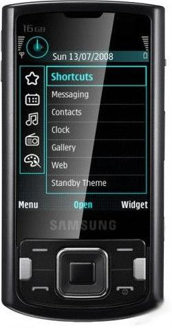 Samsung i8510 INNOV8 Actual Size Image
