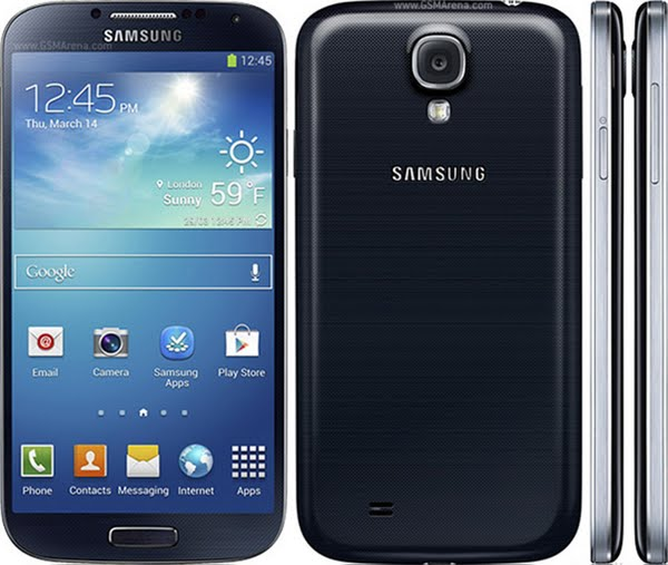 Samsung I9505 Galaxy S4 Actual Size Image