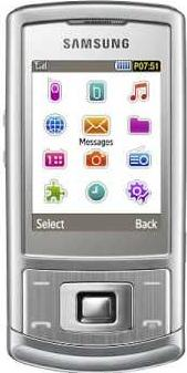 Samsung Metro S3500 Actual Size Image