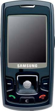 Samsung P260 Actual Size Image