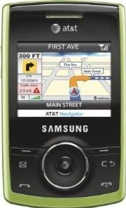 Samsung Propel SGH-A767 Actual Size Image