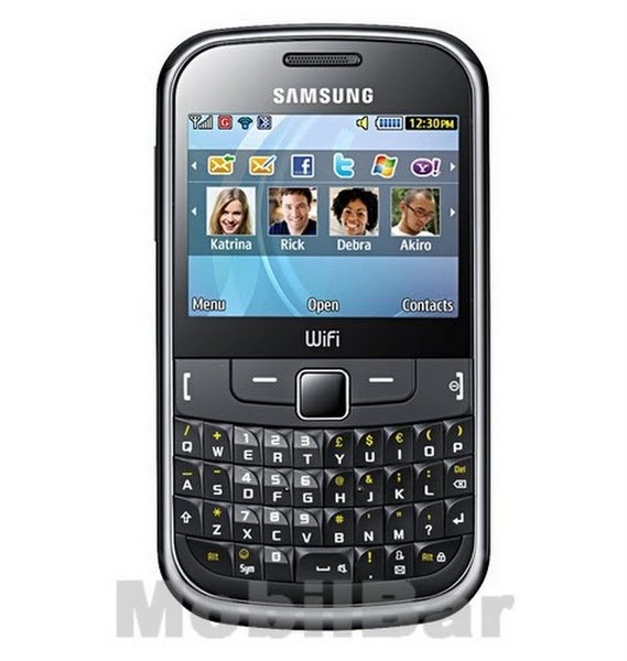 Samsung S3350 Actual Size Image