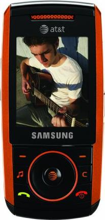 Samsung SGH-A737 Actual Size Image