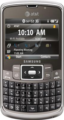 Samsung SGH-i637 Actual Size Image