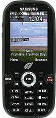 Samsung SGH-T404G Actual Size Image