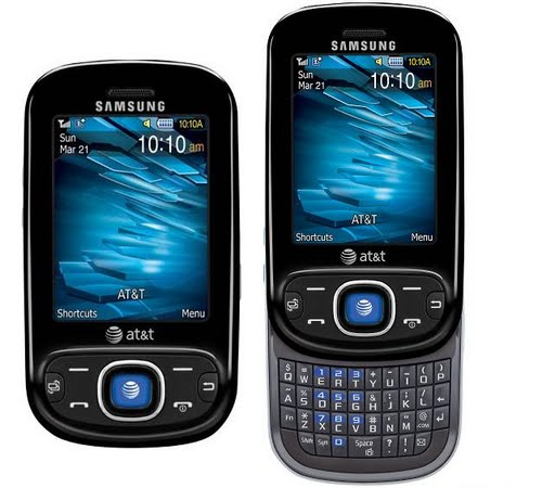 Samsung Strive Actual Size Image