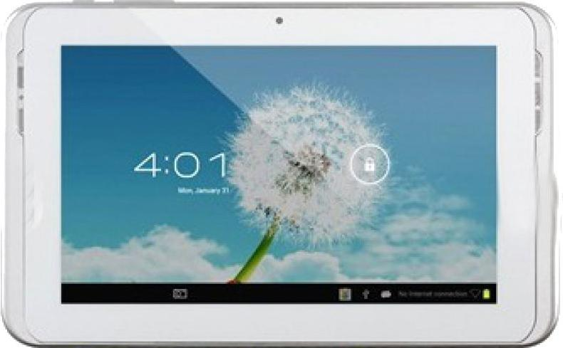 SANEI N78 Dual Core 3G Tablet Actual Size Image