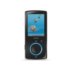 Sansa View 16GB MP3 Player Actual Size Image