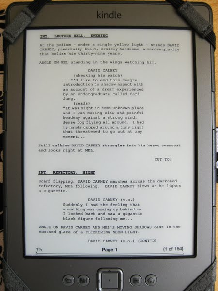 screenplay on kindle 1 Actual Size Image