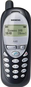Siemens A40 Actual Size Image