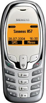 Siemens A57 Actual Size Image