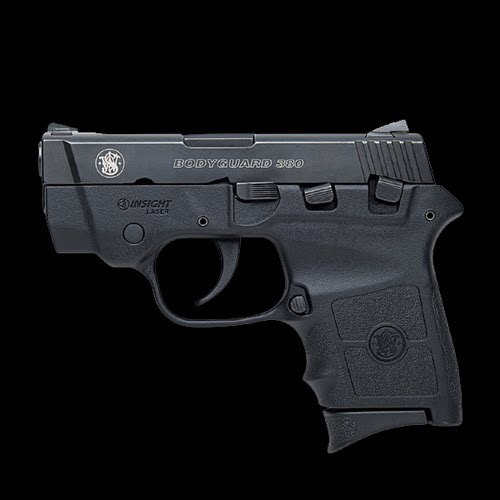Smith & Wesson Bodyguard 380 Actual Size Image