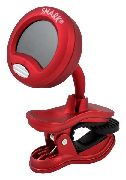 Snark SN-2 Chromatic Clip-On Tuner Actual Size Image