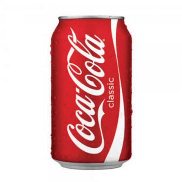 Soda can (12 oz) Actual Size Image