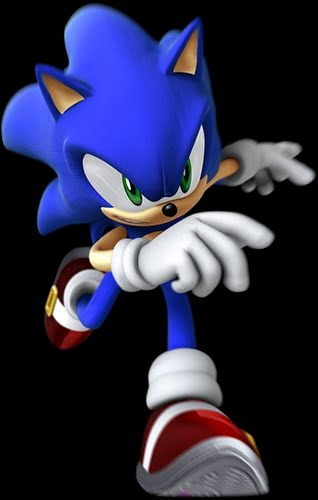 Sonic the hedgehog Actual Size Image