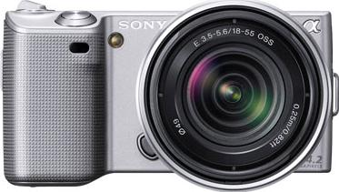 Sony Alpha NEX-5N Actual Size Image