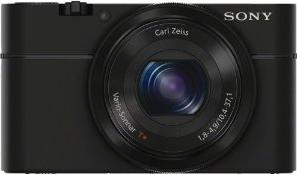 Sony Cyber-shot DSC-RX100 Actual Size Image