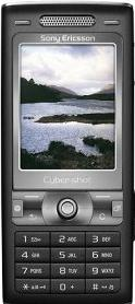 Sony Ericsson K790a Actual Size Image