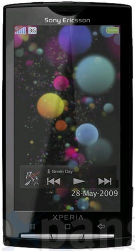 Sony Ericsson Xperia X3 (better picture, 2nd try, pective please don't make pics smaller) Actual Size Image