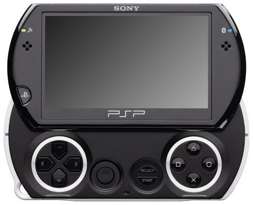 Sony PlayStation Portable go Actual Size Image
