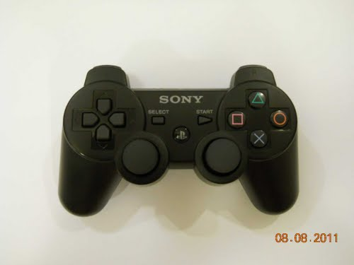 sony ps3 dual shock controller Actual Size Image