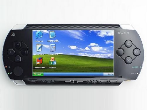Sony PSP 2000 Actual Size Image