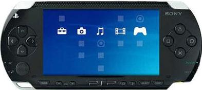 Sony Psp 3001 Playstation Portable Actual Size Image