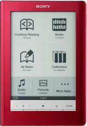 Sony Reader PRS-300 Actual Size Image