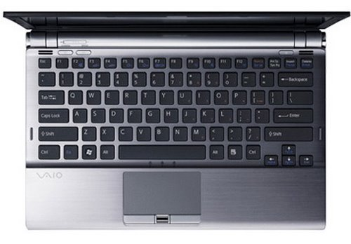 Sony Vaio Z Series Actual Size Image