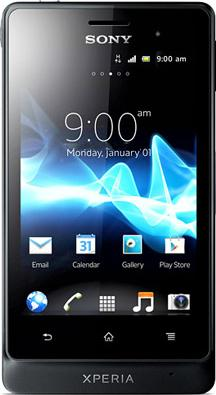 Sony Xperia Advance Actual Size Image