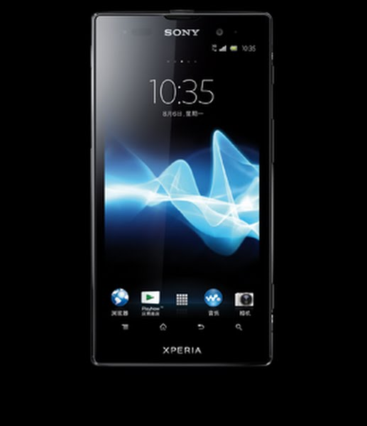 Sony Xperia Ion Actual Size Image