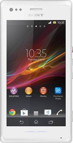 Sony Xperia M Dual Actual Size Image