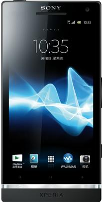 Sony Xperia SL Actual Size Image