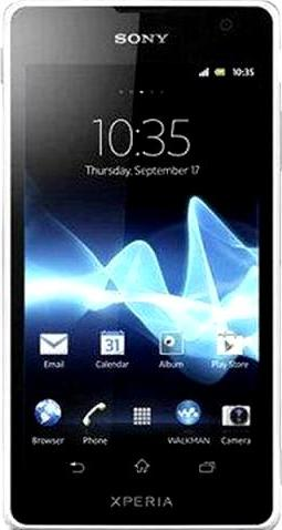 Sony Xperia SX SO-05D Actual Size Image