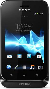 Sony Xperia Tipo Actual Size Image