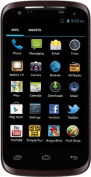 StarMobile Astra Actual Size Image