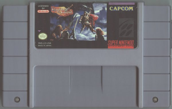 Super Nintendo Cartridge Actual Size Image