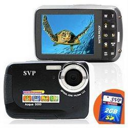 SVP WaterProof 12MP Max. Digital Camera Actual Size Image