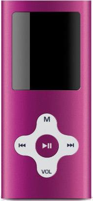 Sweex Essentials VIDI mp3 player Actual Size Image