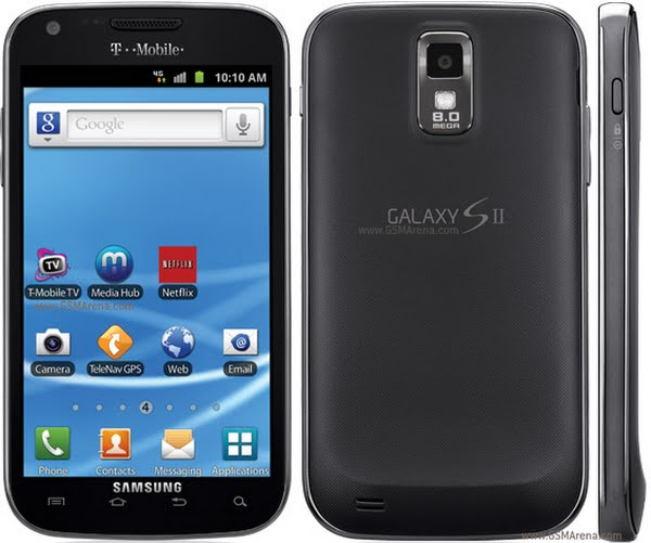 T-mobile Galaxy S2 Actual Size Image