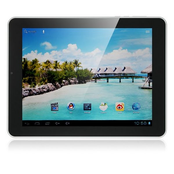 "Teclast P85 8"" tablet Actual Size Image"