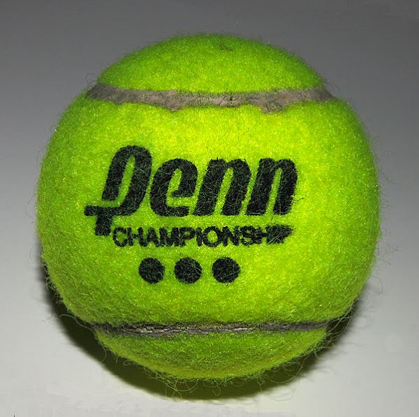 Tennis ball Actual Size Image