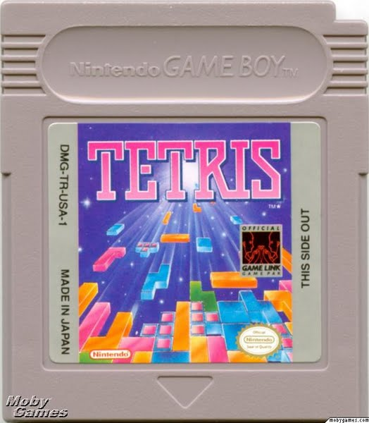 Tetris (Gameboy Game) Actual Size Image