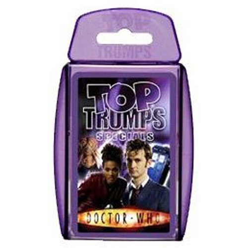 Top Trumps (Doctor Who version) Actual Size Image