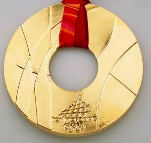 Torino Olympic Medal Actual Size Image