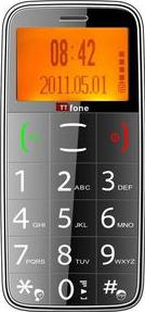TTfone TT180 Senior Mobile Phone Actual Size Image